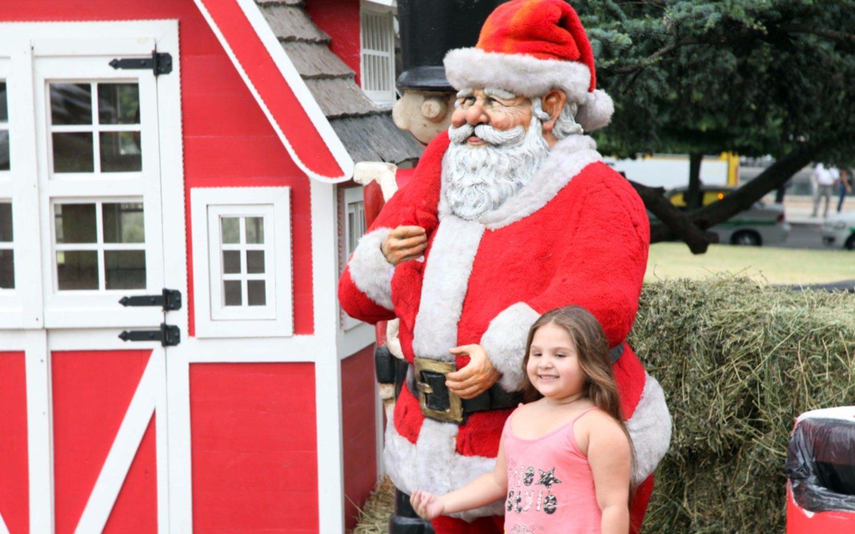 """Papá Noel estará en la """"Repu"""" para recibir las cartas de los más chiquitos"""