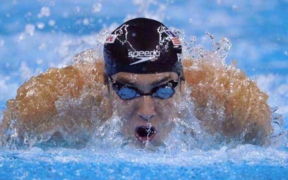 Michael Phelps visitó Argentina y se exhibió en un entrenamiento abierto