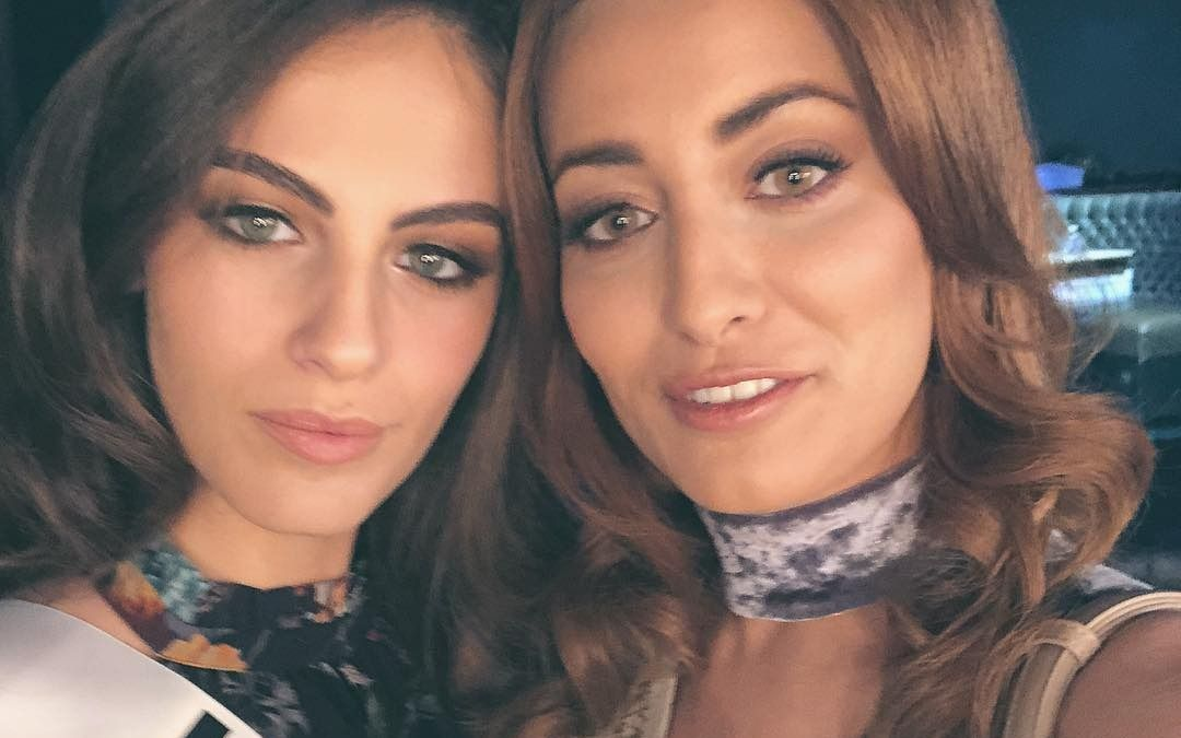 Amenazan a Miss Irak por selfie con Miss Israel