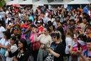 Se llevó adelante la celabración de las colectividades en Plaza Moreno