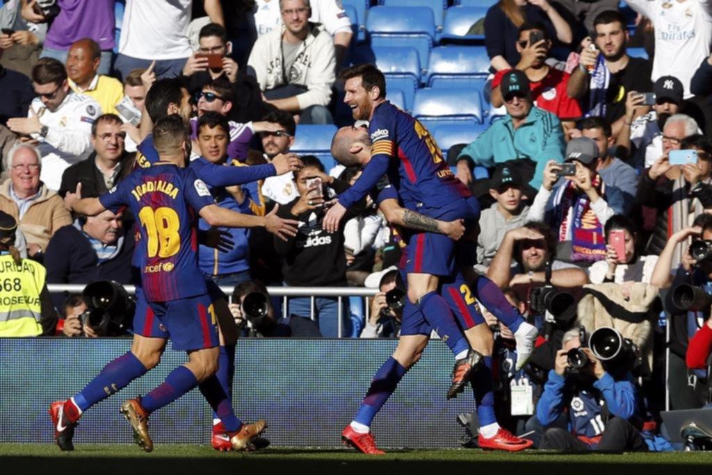 El Barcelona gana el clásico con una victoria frente al Real Madrid