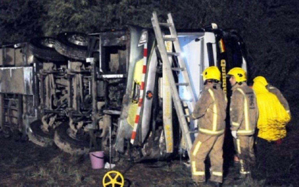Cancillería realiza gestiones para trasladar cuerpos de fallecidos en accidente en Argentina