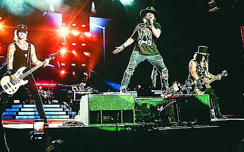 Guns N'Roses & The Who tocan en octubre en La Plata