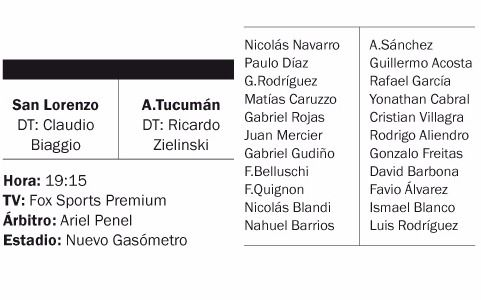 Superliga en vivo: San Lorenzo vs Atlético Tucumán, fútbol argentino
