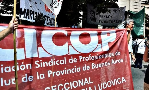 Médicos bonaerenses paran el miércoles 11 para reclamar la convocatoria a paritarias
