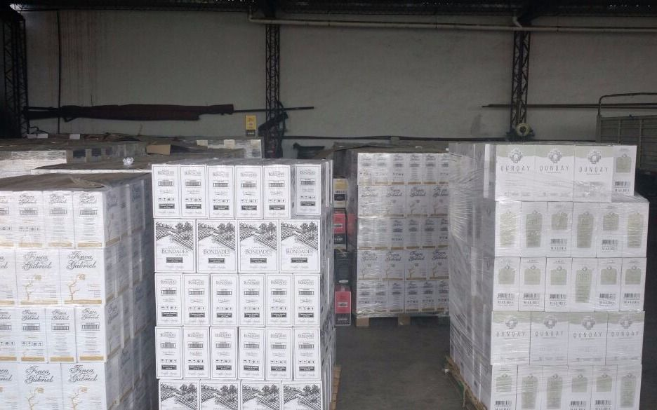 """Atrapan a """"los piratas del malbec"""" tras  robar más de 120 cajas de vino"""