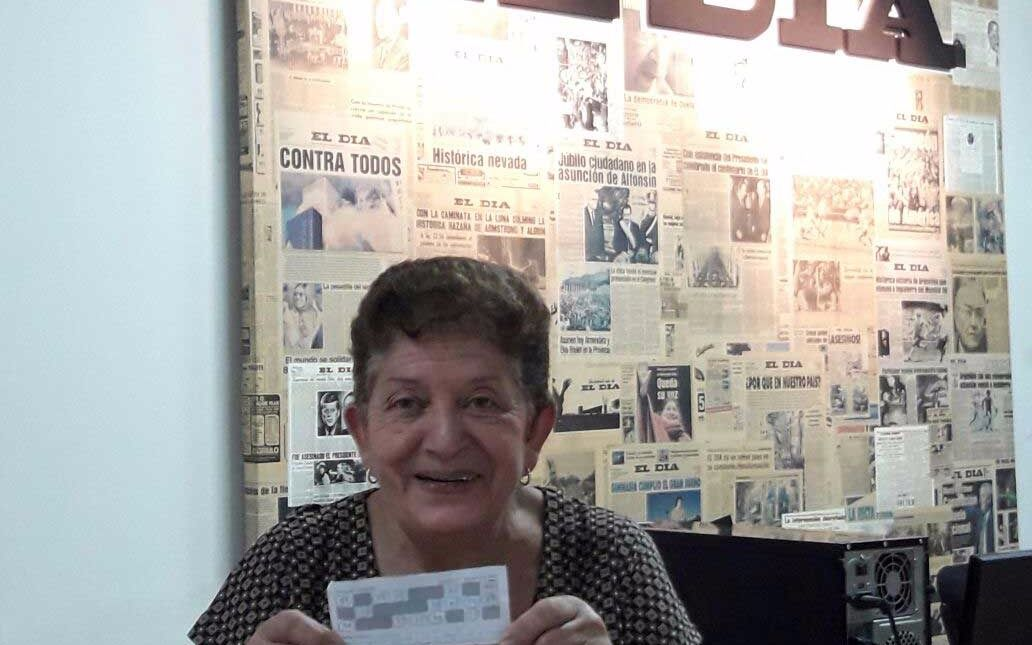 Una jubilada de Ensenada es la única ganadora de El Cartonazo