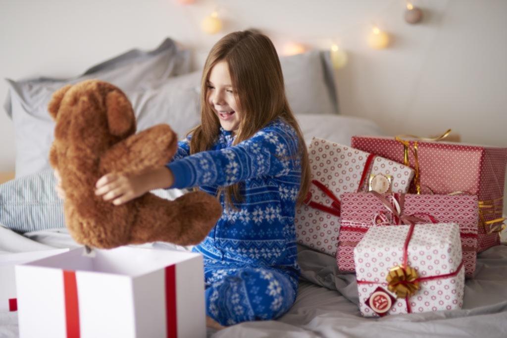 Los chicos y los regalos
