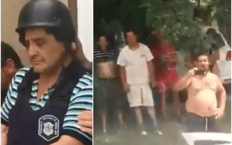 """""""Yo voy a la playa, vos a la cárcel"""", los vecinos de Monteros salieron a festejar su detención"""