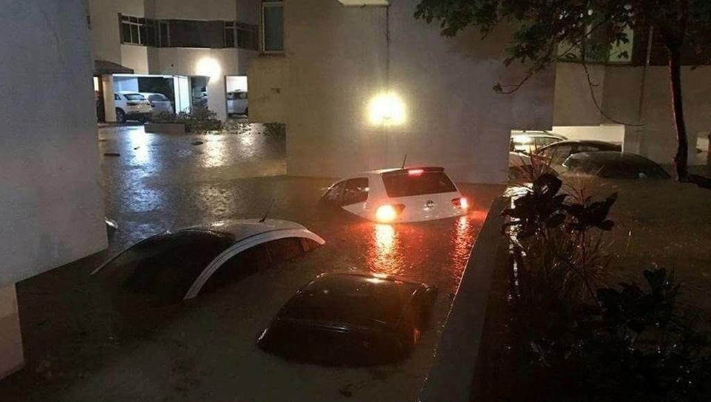 Emergencia por lluvias y tormentas en Camboriú y Florianópolis