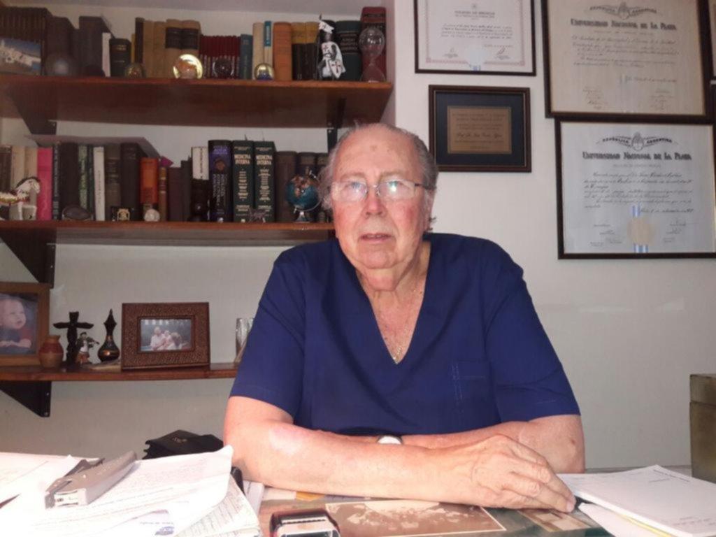 Una vida de servicio Cumplió 50 años como médico