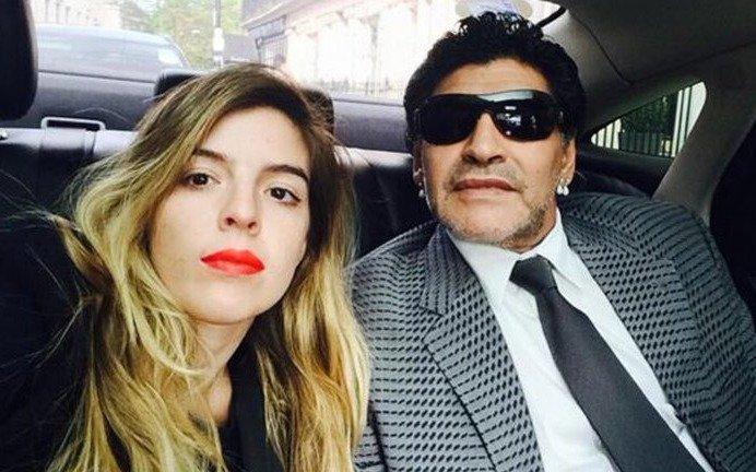 Volvieron los problemas: Diego Maradona no irá al casamiento de Dalma