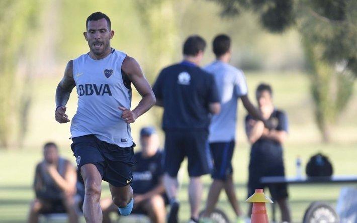 Para el partido de mañana, en Boca no estará Carlitos Tevez