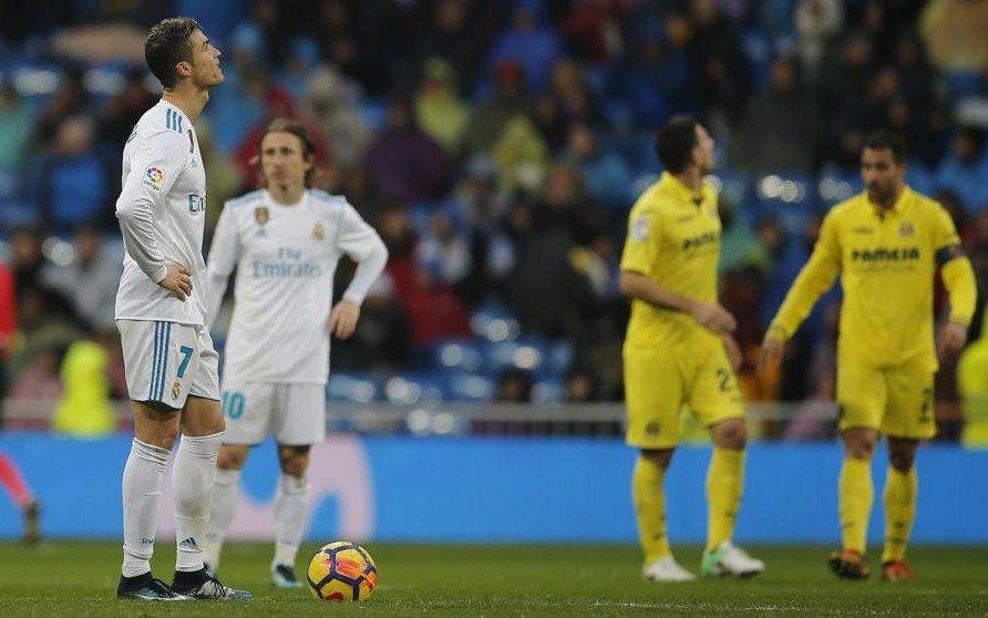 Real Madrid profundizó su crisis tras perder de local frente a Villareal