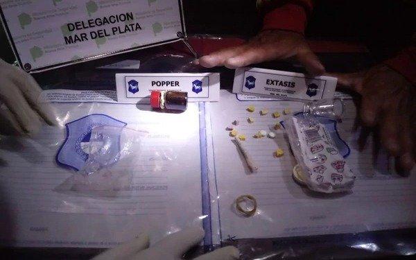 Mar del Plata: detienen a dos dealers en una fiesta electrónica