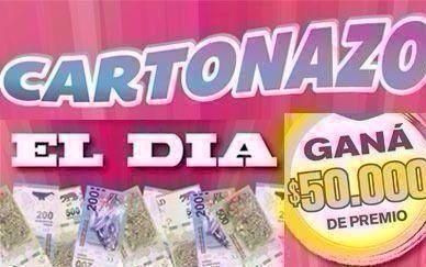 Se define El Cartonazo que esta semana reparte $50.000