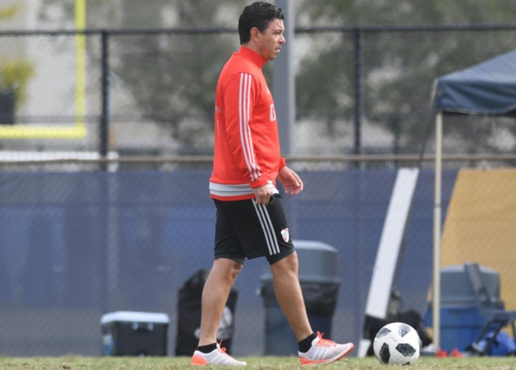 Gallardo va con todo para enfrentar a Boca — Superclásico