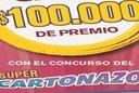 Controlá el Cartonazo, podés ganar 100.000 pesos