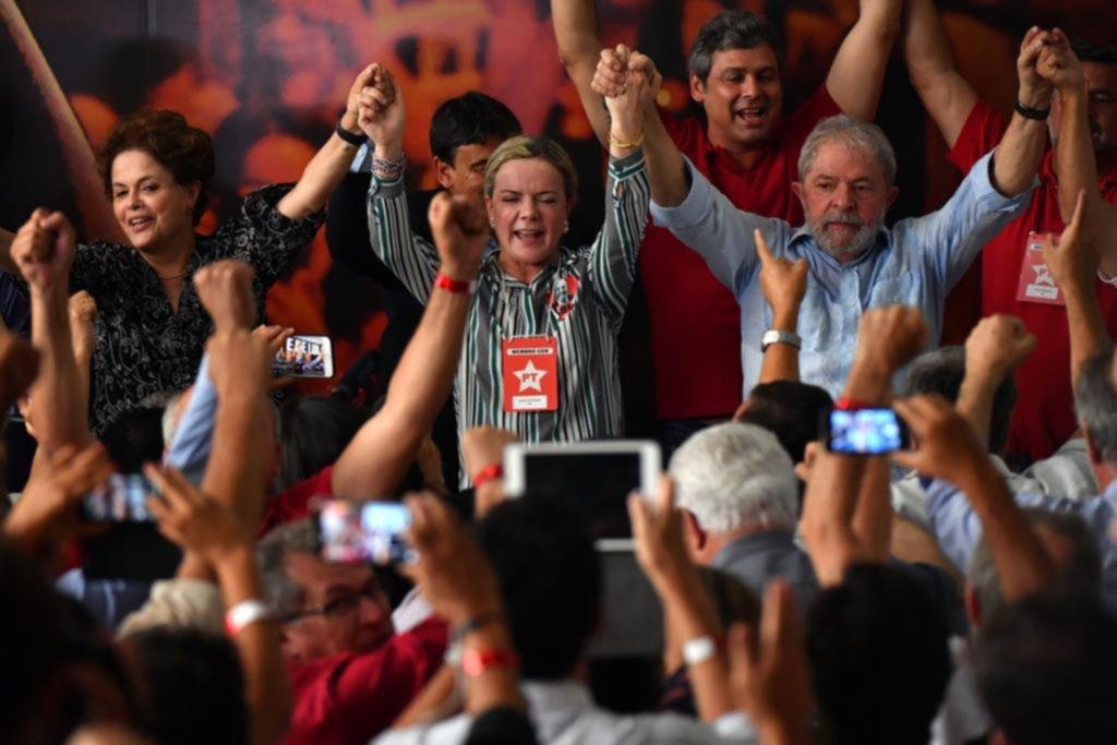 Lula candidato a pesar de su sentencia