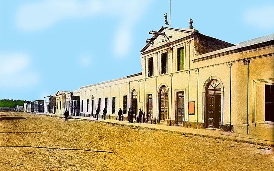 Nacimiento del teatro en La Plata