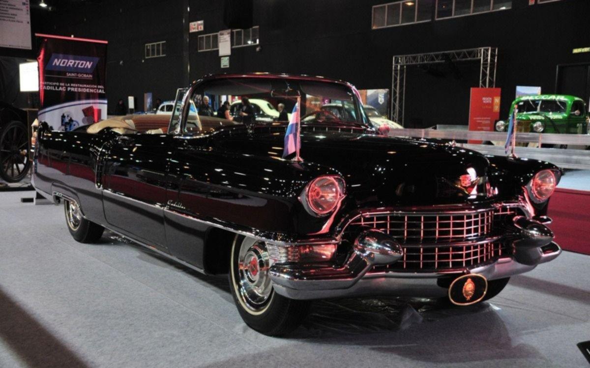 El Gobierno presenta el Cadillac de Perón