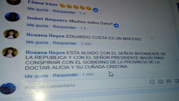 Amenazaron y usaron el Facebook de una diputada santacruceña