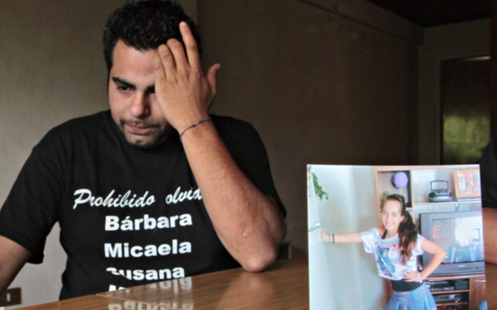 Murió el papá de la nena asesinada en la masacre de La Loma