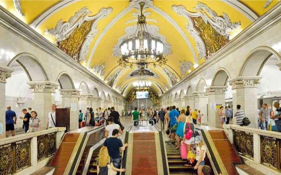 El metro de Moscú, sin estilo soviético