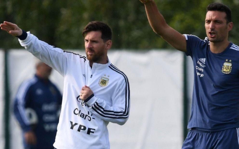 En la vuelta de Messi, la Selección argentina jugará ante Venezuela