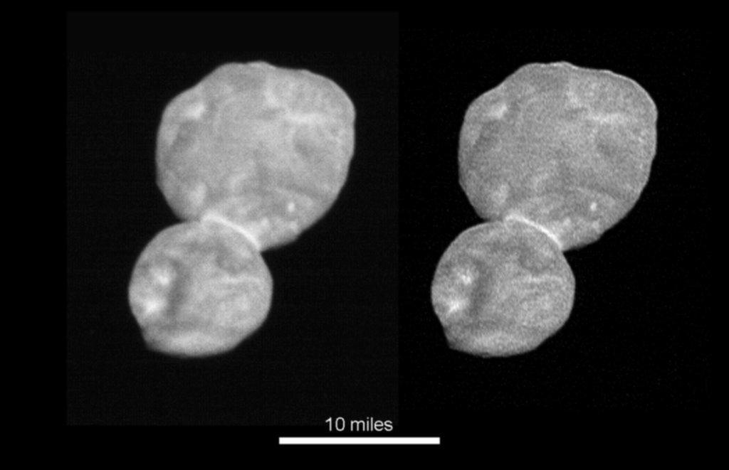 Ultima Thule, un pequeño mundo que recrea el nacimiento del sistema solar