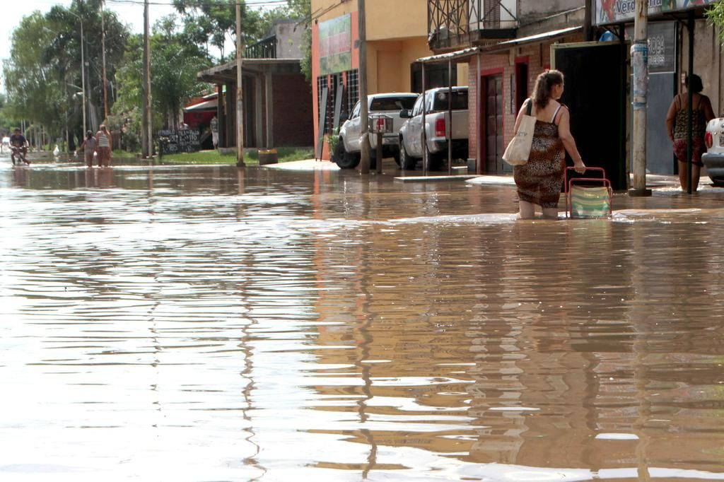Ya hay tres víctimas fatales por el temporal en el Litoral