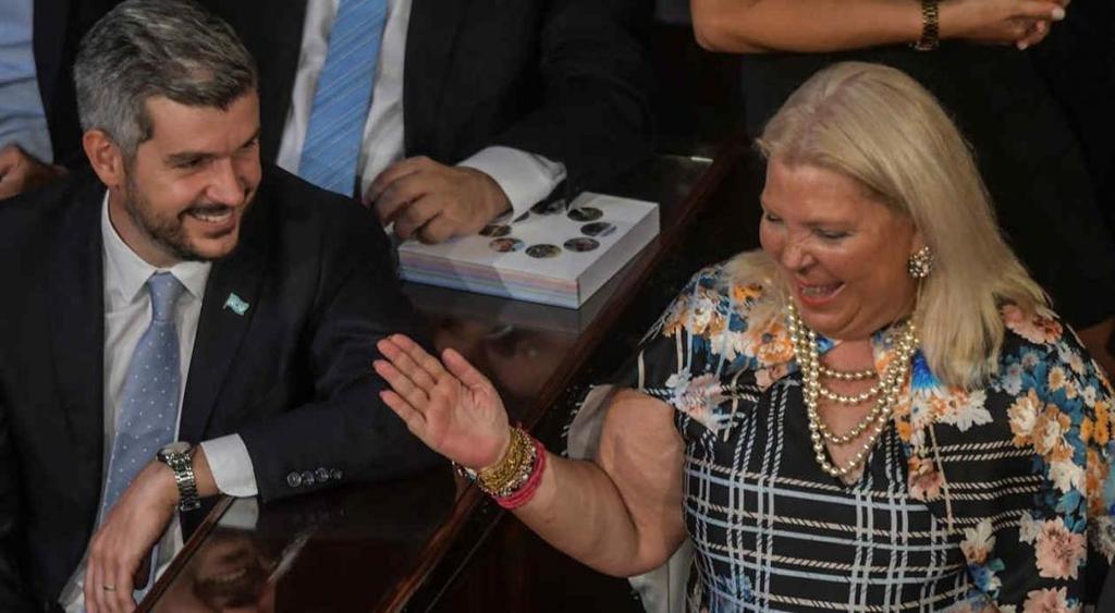 Peña visitó a Elisa Carrió en su casa, para discutir el rol de la diputada en la campaña