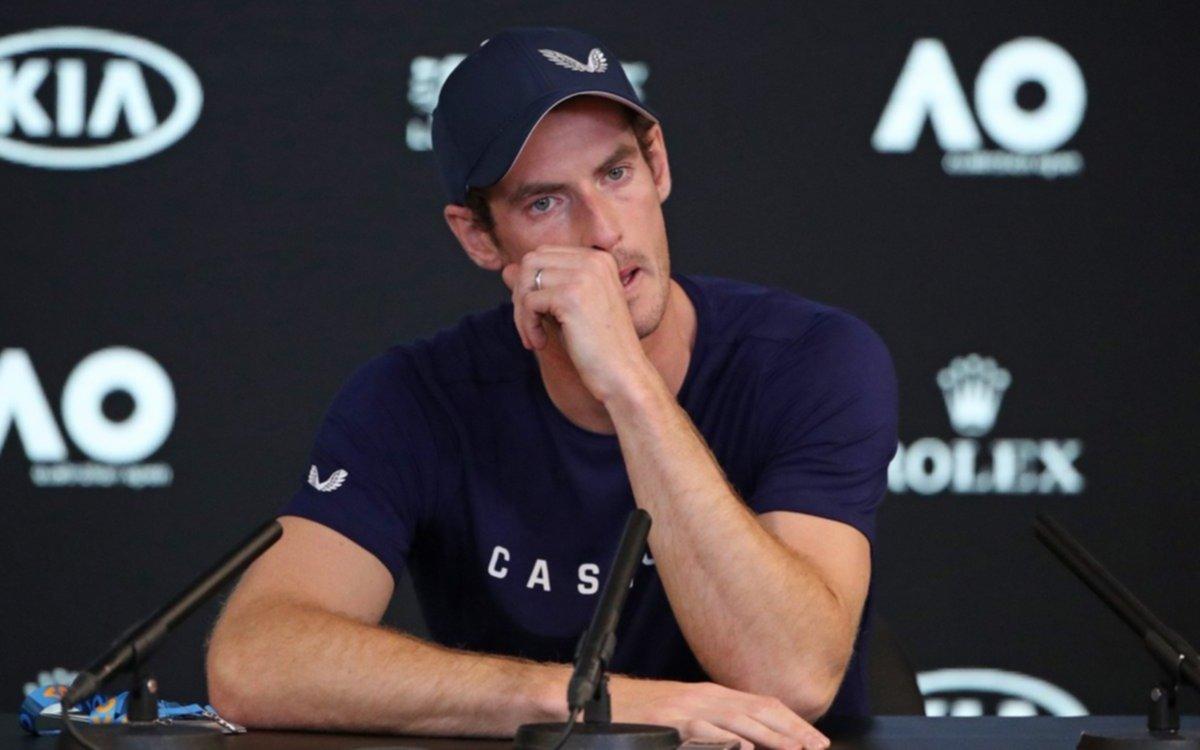 Entre lágrimas, Murray anunció su retiro del tenis