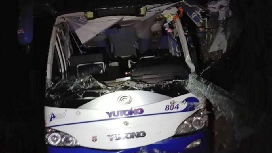 Dos turistas argentinas murieron al accidentarse un ómnibus en Cuba