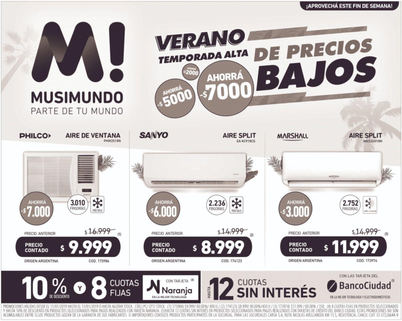 Verano en Musimundo: temporada alta de precios bajos en aires acondicionados y ventiladores