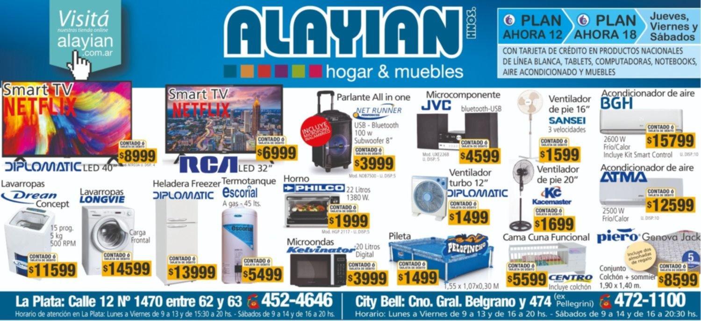 Revisá la gran variedad de productos de Alayian hnos.