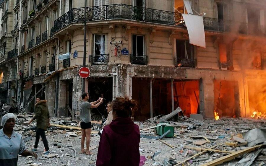 Al menos tres muertos y 50 heridos tras la explosión de una panadería en París