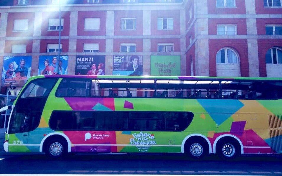 Un bus con actividades e información para los turistas recorrerá los destinos bonaerenses