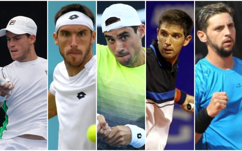 Con cinco argentinos y sin Del Potro comenzará mañana el primer Grand Slam de 2019