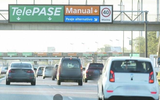 Los peajes porteños aumentaron hoy su tarifa en un 35% promedio para autos