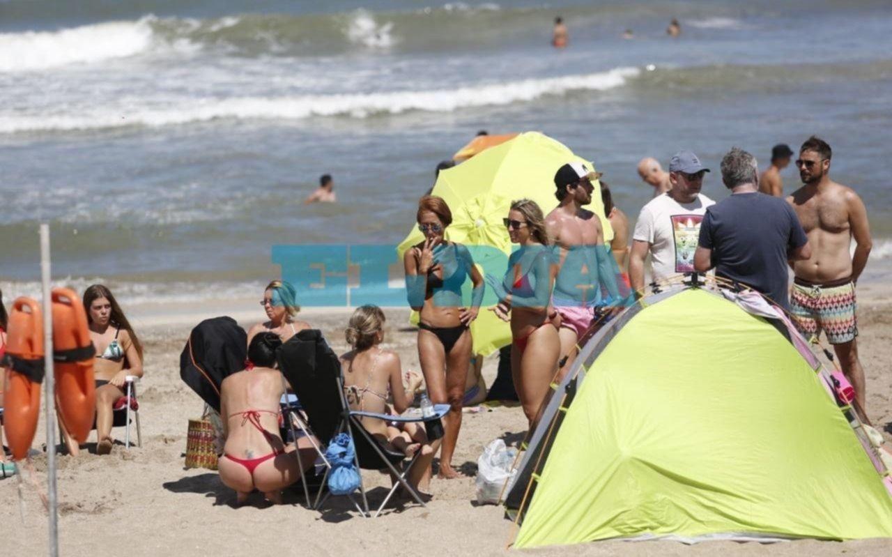 En la Costa, los turistas disfrutan de un sábado a pleno sol