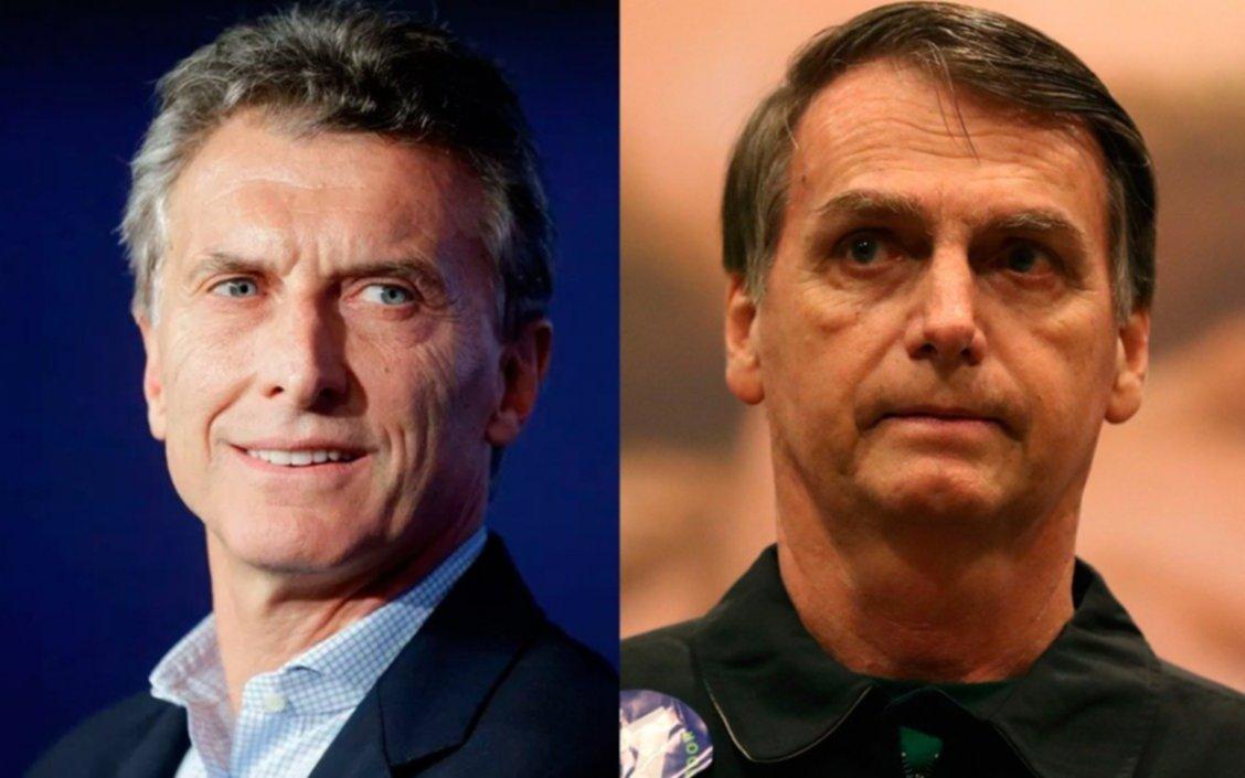 Macri se reunirá esta semana con Bolsonaro en Brasil y el Mercosur será tema clave