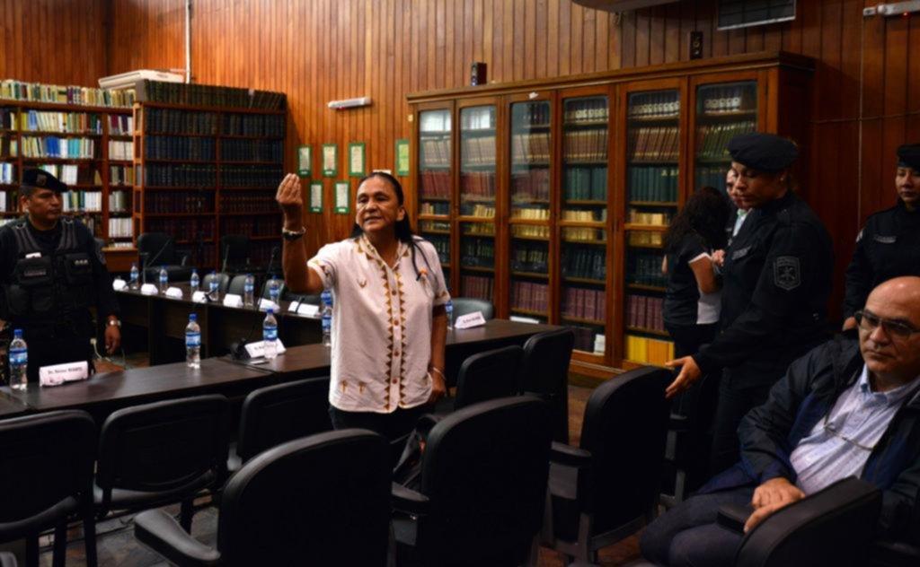 Milagros Sala fue condenada a 13 de años de prisión