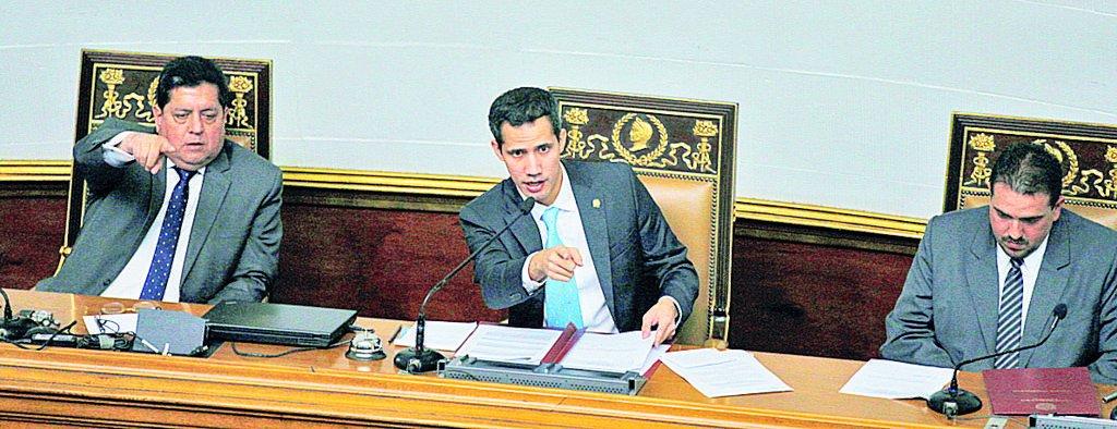 """Maduro, """"usurpador"""" según el Congreso venezolano"""