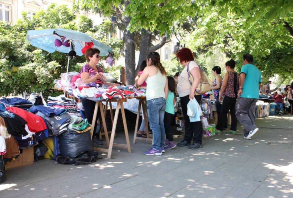 Explosivo aumento de la venta callejera en comparación con el verano pasado