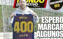 """Lio Messi, después del gol número 400: """"Espero marcar algunos más"""""""