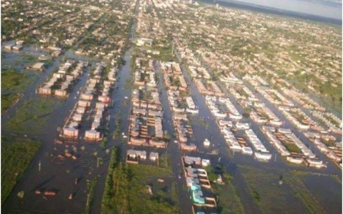 Grave situación en Chaco  por lluvias récord