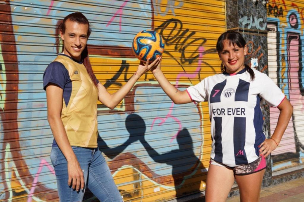 Las futbolistas trans se ganan su lugar en la Liga Amateur Platense