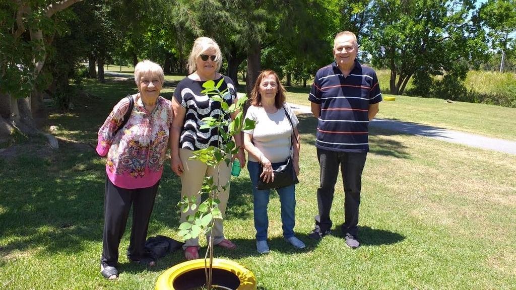 Una iniciativa ecológica en el parque Atilio Boveri de Castells