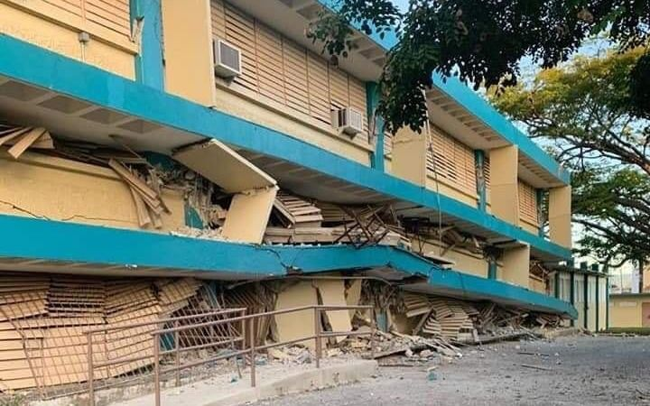 Tras decenas de réplicas, se registró un nuevo sismo de 5,9 grados en Puerto Rico